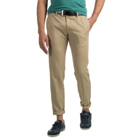 Specially made Woven Dress Pants (For Men) in Tan