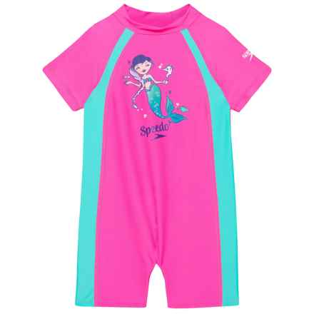 Speedo Begin to Swim Sun Swimsuit - UPF 50+ (For Infants and Toddlers) 2fc31e6a45fb