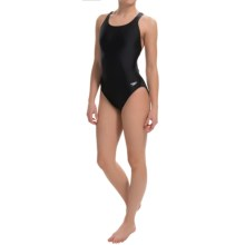 Speedo Core High-Performance Swimsuit - Super Pro Back (For Women) in Black - Closeouts