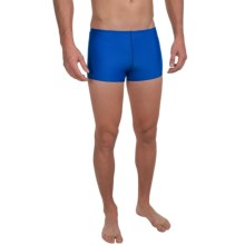 Speedo Endurance+ Swimsuit - UPF 50+, Square Leg (For Men) in Sapphire - Closeouts