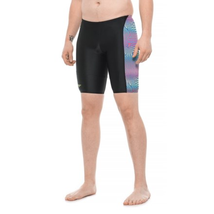d68952c275 Speedo FlipTurns Jammer Swimsuit (For Men) in Blue Multi - Closeouts