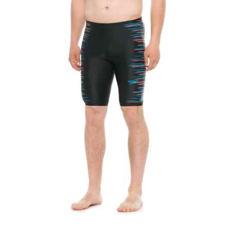 Speedo Horizon Blur Jammer Swimsuit (For Men) in Multi - Closeouts