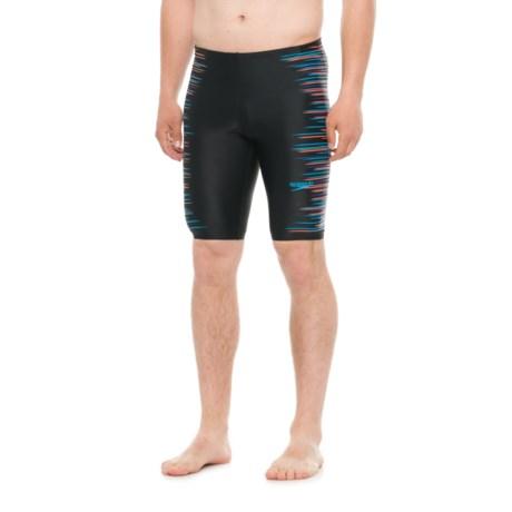Speedo Horizon Blur Jammer Swimsuit (For Men) in Multi