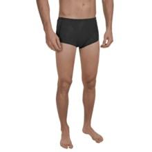 Speedo Hydralign Drag Swim Briefs (For Men) in Black - Closeouts