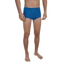Speedo Hydralign Drag Swim Briefs (For Men) in Blue - Closeouts