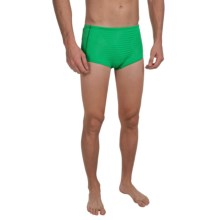 Speedo Hydralign Drag Swim Briefs (For Men) in Kelly Green - Closeouts