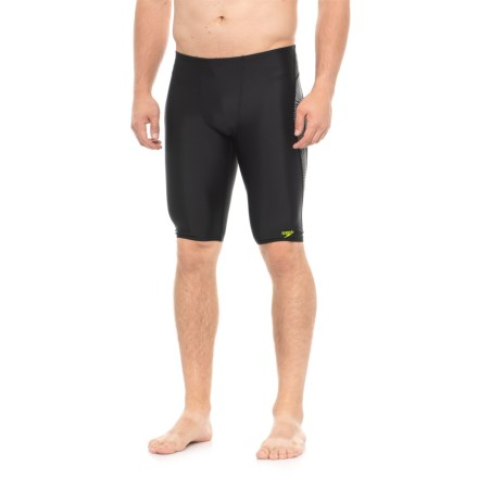 acfbe217f7 Speedo Hydro Edge Jammer Swimsuit (For Men) in Black - Closeouts
