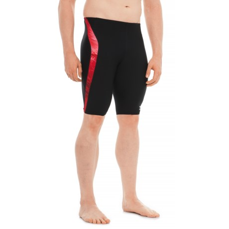 Speedo Ice Flow Jammer Swimsuit (For Men) in Red