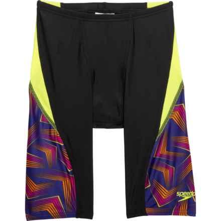 Speedo Play the Angles Jammer Swimsuit (For Men)