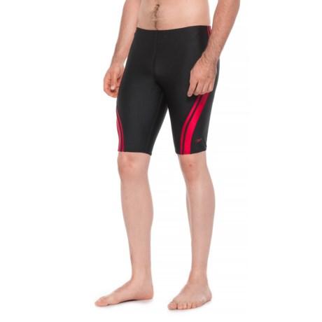 2f21e754b5d Speedo Quantum Spliced Jammer Swimsuit (For Men) in Black/Red