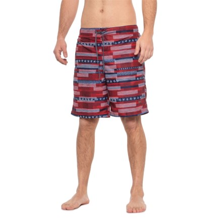 747a56ed3f Speedo Red Home Free Swim Trunks (For Men) in Speedo Red