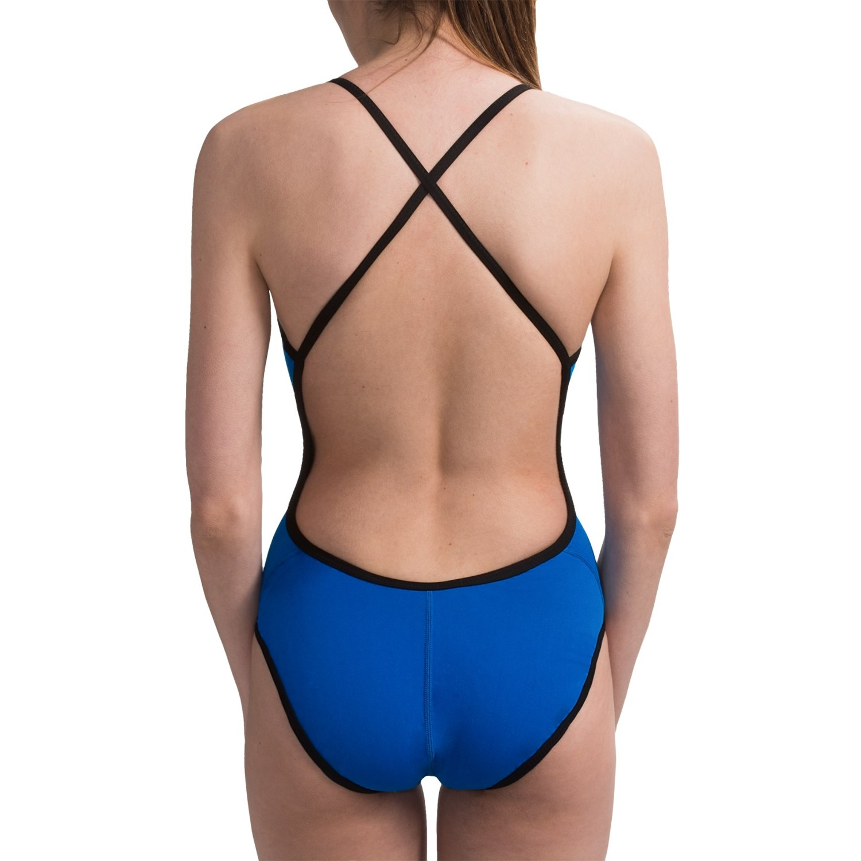 Speedo Reversible Extreme Back Swimsuit (For Women) 3978D ...