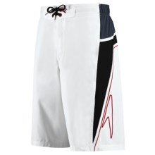 Speedo Shorebreak Boardshorts - UPF 50 (For Men) in White - Closeouts