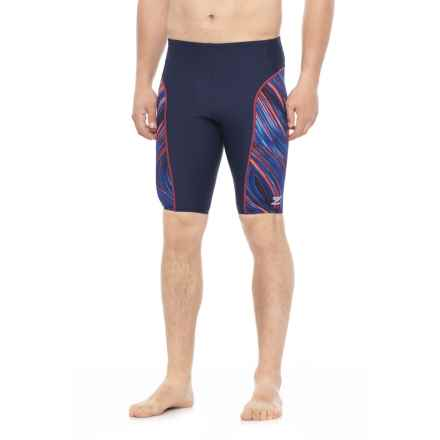 Speedo Turbo Stroke Jammer Swimsuit (For Men) in Navy - Closeouts