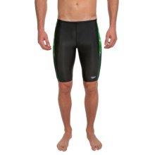 Speedo Twinkly Jammer Swimsuit (For Men) in Kelly Green - Closeouts