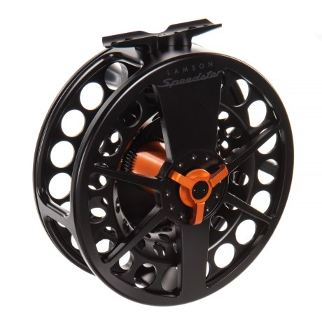 Speedster 4 HD Fly Reel – 10 wt, Orange Drag Knob