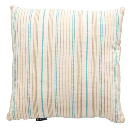 "Spencer Oversized Herringbone Stripe Throw Pillow - 24x24"", Feathers in Multi"