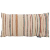"Spencer Textured Stripe Throw Pillow - 14x27"", Feathers"