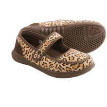 Spenco Heidi Mary Jane Slippers - Fleece Lining (For Women) in Cheetah - Closeouts