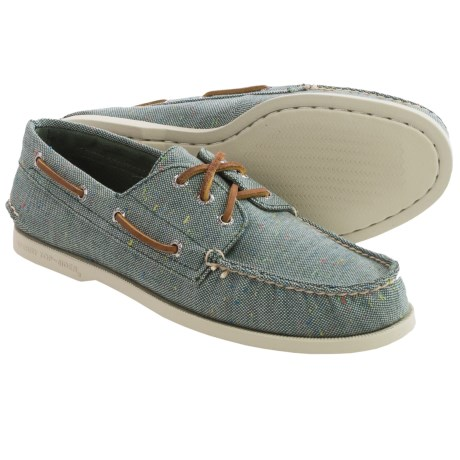 Sperry A/O Canvas Boat Shoes (For Men)