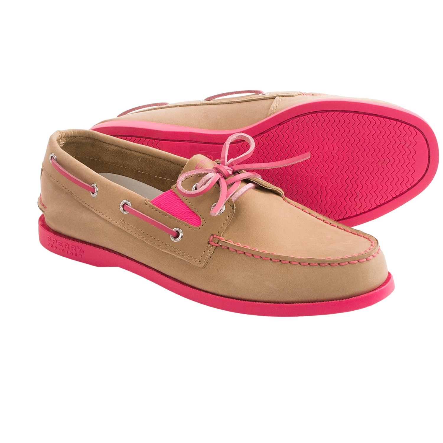 sperry a o shoes nubuck for and youth in linen multi