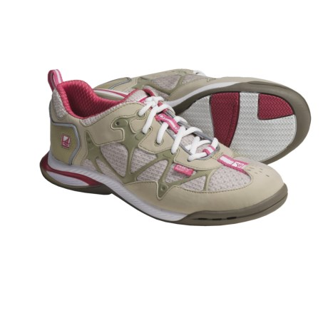 Sperry ASV Athletic Boat Shoes (For Women) in Grey/Pink