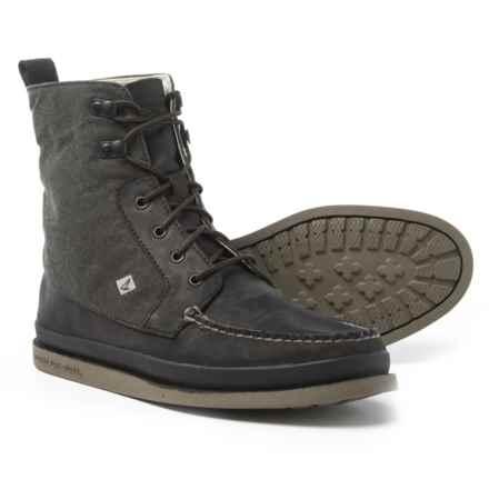 Sperry Authentic Original Surplus Boots (For Men) in Black - Closeouts
