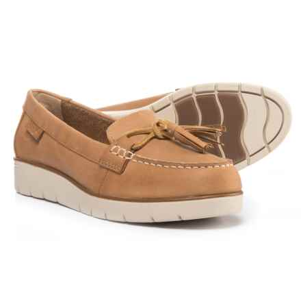 Sperry Azure Cast Boat Shoes - Leather (For Women) in Tan - Closeouts