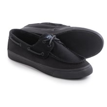 Sperry Bahama Canvas Shoes (For Women) in Black/Black - Closeouts