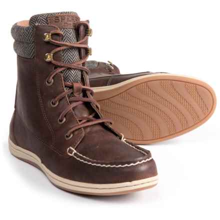 Sperry Bayfish Boots - Leather (For Women) in Brown - Closeouts