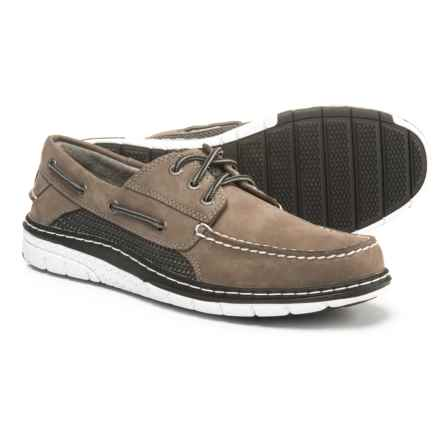 Sperry Billfish Ultralite Boat Shoes - Leather (For Men) in Grey - Closeouts