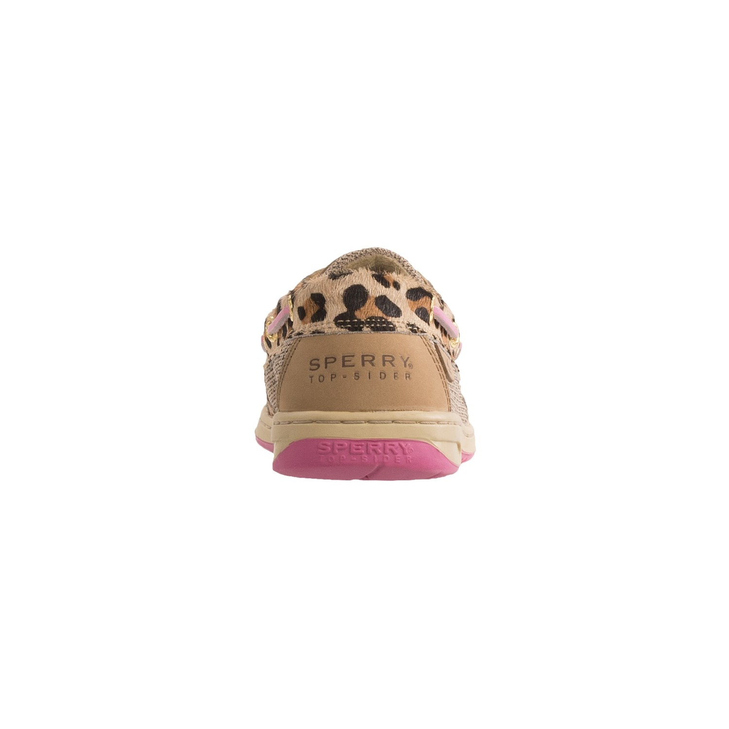 Leopard Colored Women Sperry Shoes