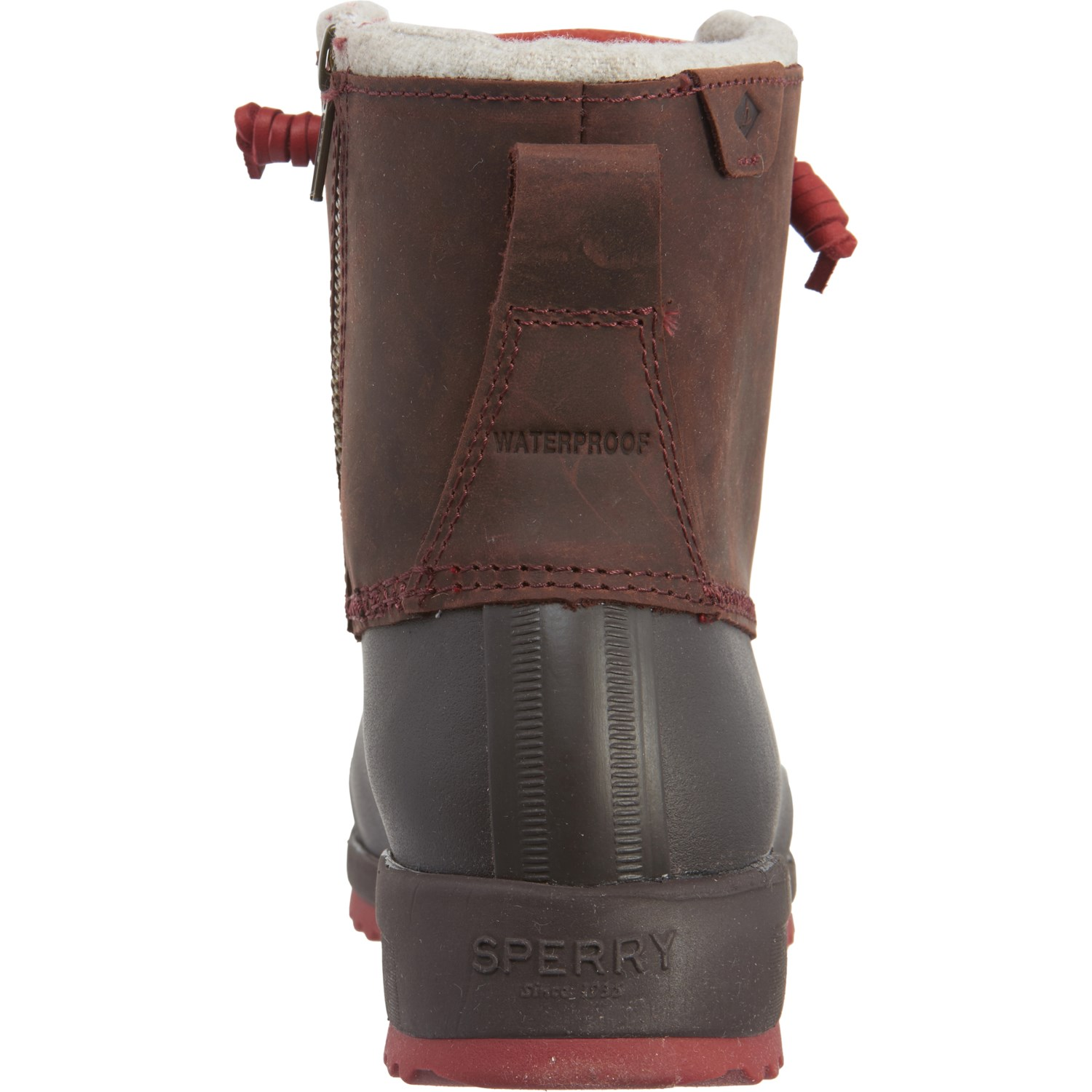 Sperry Brown Maritime Repel Thinsulate 174 Duck Boots For Women