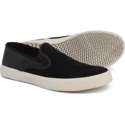 8657d219adb08 Sperry Captain S/O Sneakers - Leather (For Men) in Black