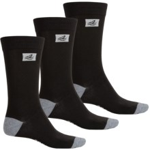 Sperry Casual Crew Socks - 3-Pack (For Men) in Black - Closeouts