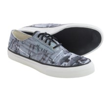 Sperry Cloud CVO Cefalu Umbrella Shoes (For Men) in Grey Malin Black - Closeouts