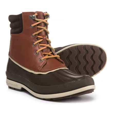 Sperry Cold Bay Duck Boots - Waterproof, Insulated (For Men) in Brown/Tan - Closeouts