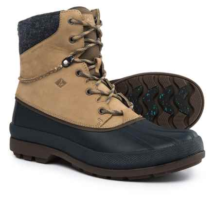 Sperry Cold Bay Duck Boots - Waterproof, Leather (For Men) in Taupe - Closeouts