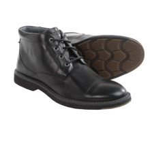 Sperry Commander Chukka Boots - Leather (For Men) in Black - Closeouts