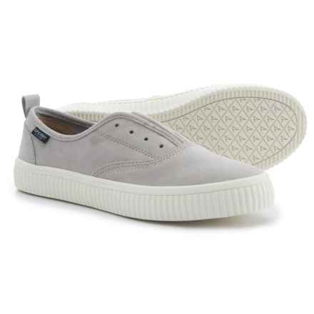 Sperry Crest Creeper CVO Sneakers - Suede (For Women) in Grey - Closeouts