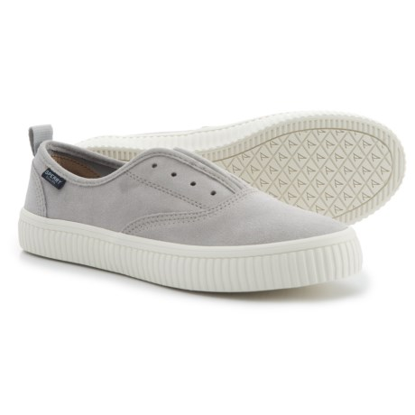 Sperry Crest Creeper CVO Sneakers - Suede (For Women) in Grey