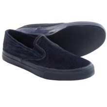 Sperry CVO Pony Hair Shoes - Slip-Ons (For Men) in Navy - Closeouts