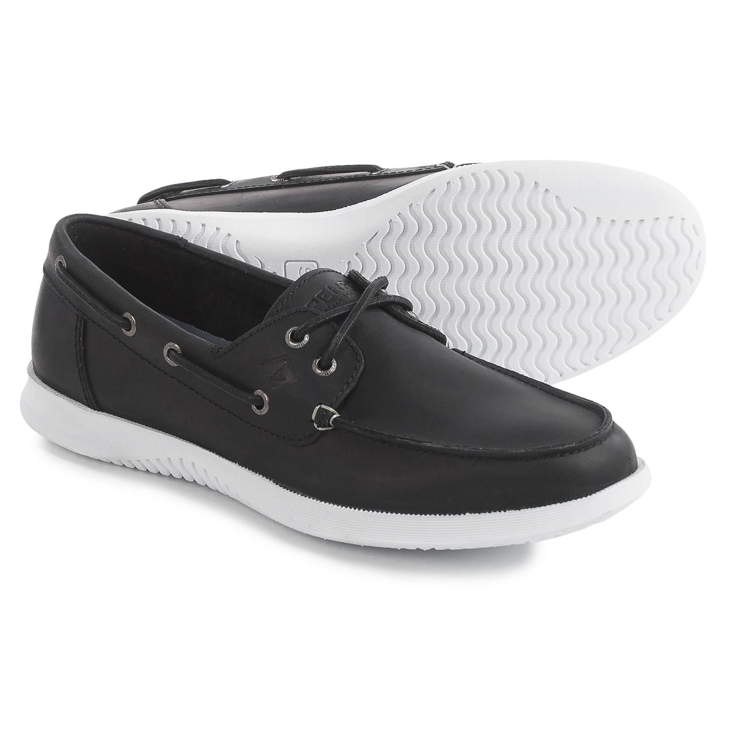 Boat Shoes For Men The boat shoe was created in by Paul Sperry. Sperry sought to design a shoe that would successfully grip the deck of a boat without leaving scuff marks behind.