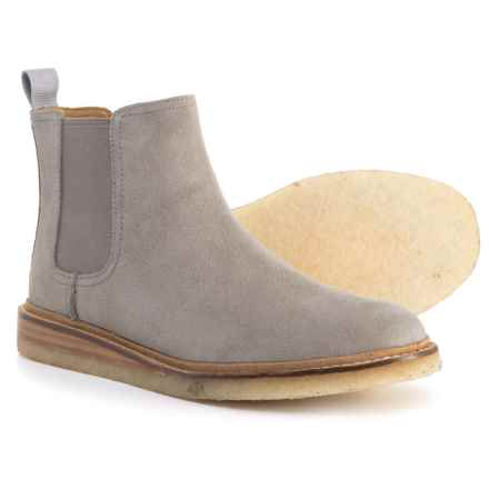 Sperry Dronsfield Chelsea Boots - Suede (For Women) in Grey - Closeouts