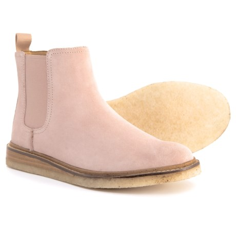 Sperry Dronsfield Chelsea Boots - Suede (For Women) in Rose