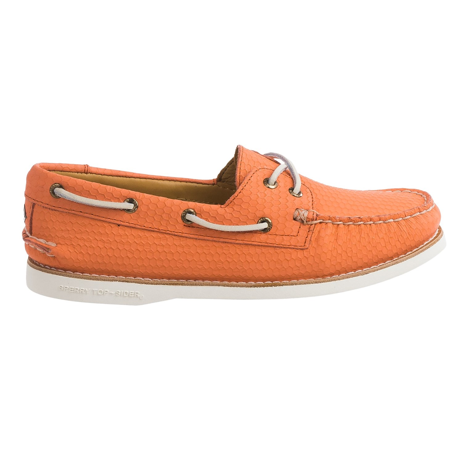 Sperry Top-Sider Women's Gold Cup A/O Seasonal Boat Shoe,Black/White Leather,US