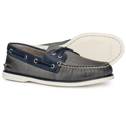 fe7ecd8a02 Sperry Gold Cup Authentic Original 2-Eye Boat Shoe (For Men) in Grey