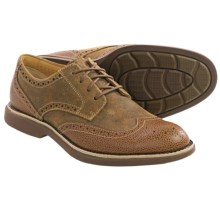 Sperry Gold Cup Bellingham Wingtip Shoes (For Men) in Tan - Closeouts