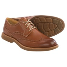 Sperry Gold Cup Bellingham Wingtip Shoes - Leather (For Men) in Tan - Closeouts