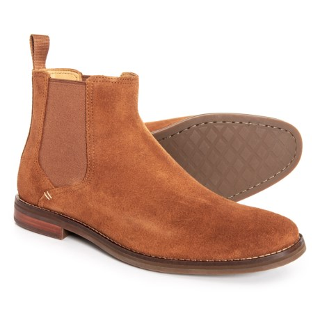 efa97a14332096 Sperry Gold Cup Exeter Chelsea Boots - Suede (For Men) in Caramel